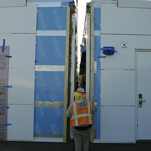 prefabricated modular solutions installation
