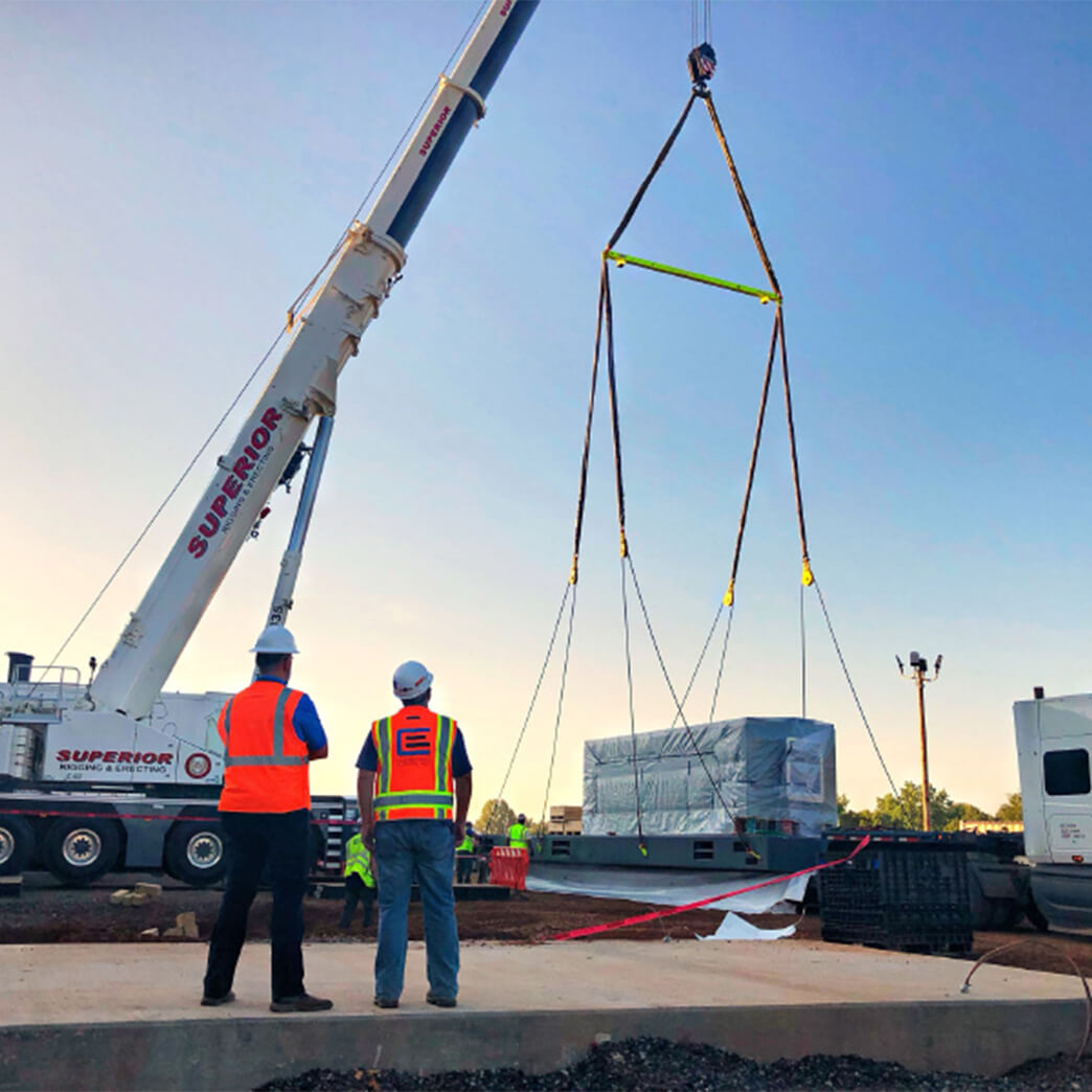 Cupertino Electric moves into prefabricated modular construction