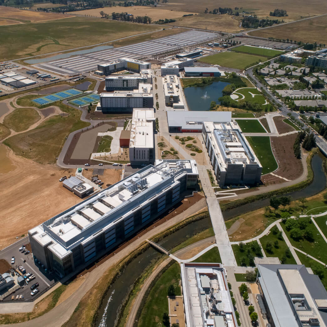 CEI works on the Merced 2020 campus expansion project and helps achieve LEED platinum status