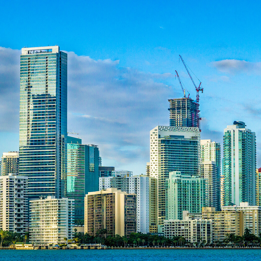 Cupertino Electric works on the Network Access Point of the Americas in Miami, Florida