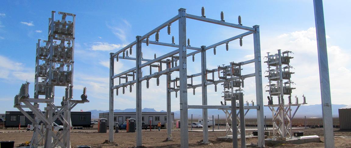 copper mountain solar plant substation