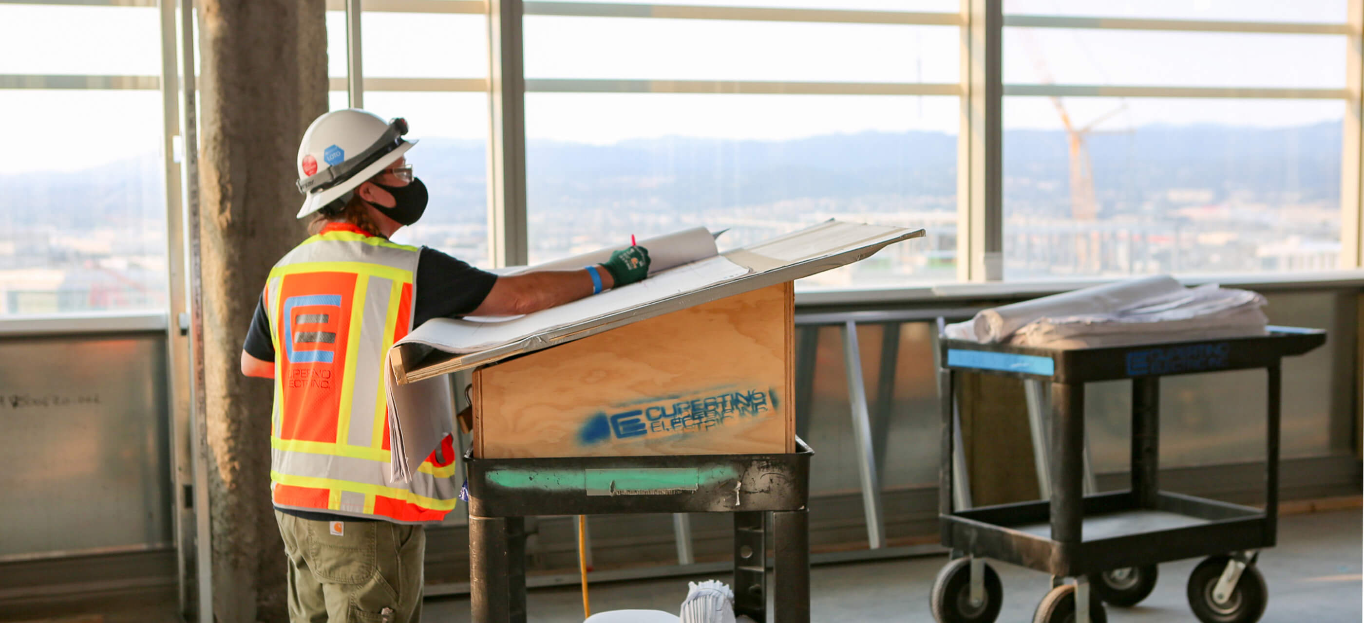 Cupertino Electric's Construction services